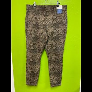 HIGH WAIST LEGGINGS BY NY&C PULL-ON SIZE XL NWT